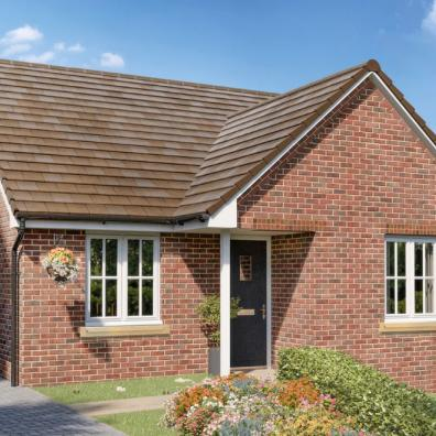 The two-bedroom Hayward is among the homes now available from Elan at Three Js in Abberley