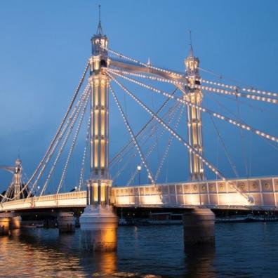 Albert Bridge Chelsea London