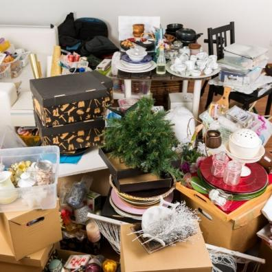 clutter and junk