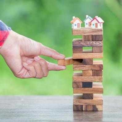 Risk of investing money. security of property rights
