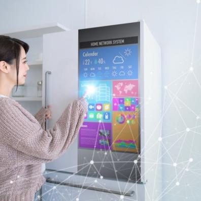 Smart refrigerator concept