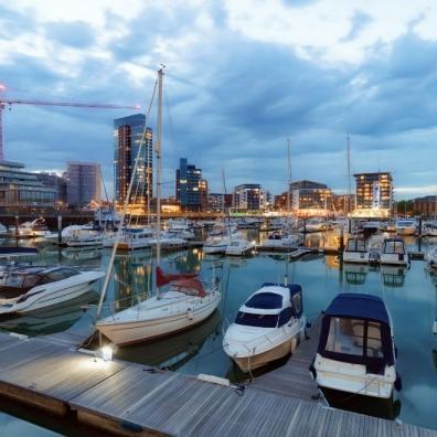 Southampton's Ocean Village marina